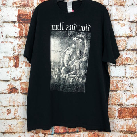 Null and Void, used band shirt (XL)