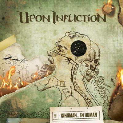 Upon Infliction - Inhuman... in Human (CD, Album) (NM or M-)