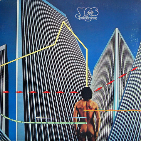 Yes - Going For The One (LP, Album, Pre) (VG+)