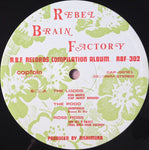 Various - Rebel Brain Factory (LP, Album, Comp) (VG+)