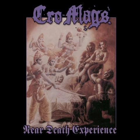 Cro-Mags - Near Death Experience (LP, Album, RE, Pur) (NM or M-)