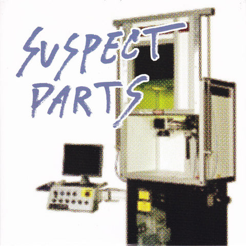 "Suspect Parts - Seventeen Television EP (7"", EP) (NM or M-)"