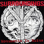 "Surroundings - Monuments In Ruins (7"", Red) (VG+)"