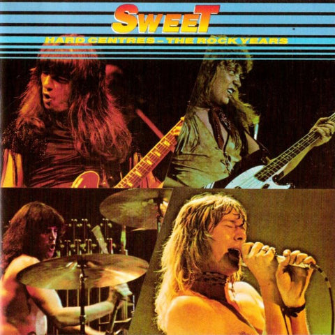 The Sweet - Hard Centres - The Rock Years (CD, Comp) (NM or M-)