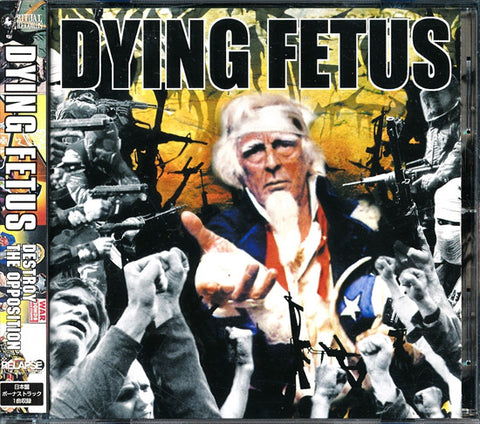 Dying Fetus - Destroy The Opposition (CD, Album) (M)
