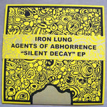 Iron Lung / Agents Of Abhorrence - Silent Decay (7`, EP, Ltd, RE, Pur) (NM or M-)