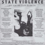 "State Violence - ...You Now See The Truth In The Lie. (7"", W/Lbl, Gre) (NM or M-)"