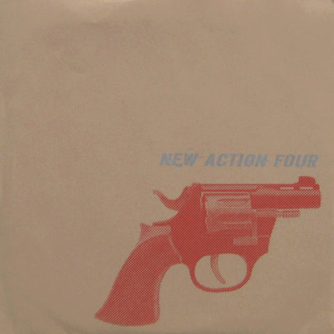 New Action Four - New Action Four (7`, S/Sided, W/Lbl) (VG+)