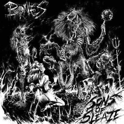 Bones (40) - Sons Of Sleaze (CD, Alb) (M)