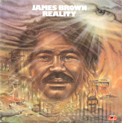 James Brown - Reality (LP, Album, All) (VG+)