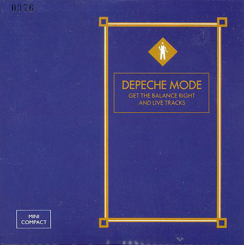 Depeche Mode - Get The Balance Right And Live Tracks (CD, MiniAlbum, Ltd, Num) (VG+)
