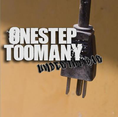 One Step Too Many - Under The Bar (CD, Album) (M)