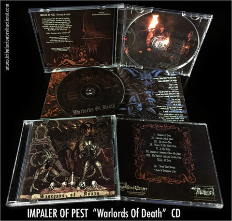 Impaler Of Pest - Warlords Of Death (CD, Album) (NM or M-)