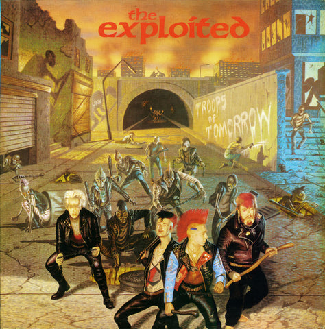 The Exploited : Troops Of Tomorrow (LP, Album, RE)