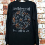 Withdrawal, used band shirt (M)