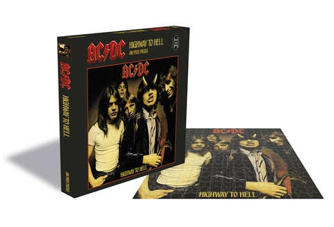 "AC/DC ""Highway To Hell"" Rock Saws 500 Piece Jigsaw Puzzle"