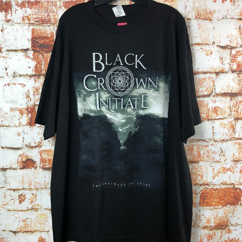 Black Crown Initiate, used band shirt (2XL)