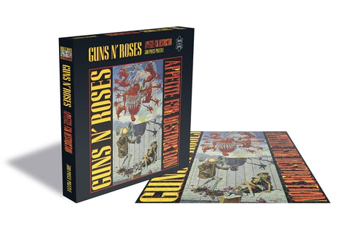 "Guns N' Roses ""Appetite For Destruction"" Rock Saws 500 Piece Jigsaw Puzzle"