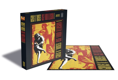 "Guns N' Roses ""Use Your Illusion I"" Rock Saws 500 Piece Jigsaw Puzzle"