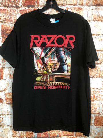 Razor, used band shirt (L)