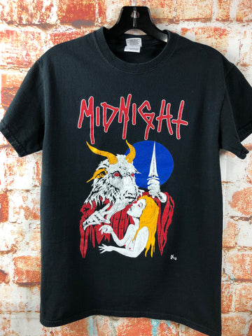 Midnight, used band shirt (S)