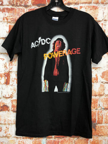 "AC/DC ""Powerage"", used band shirt (S)"