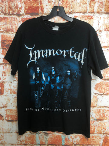 Immortal, used band shirt (S)