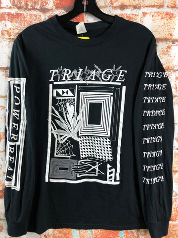 Triage, used band shirt (S)