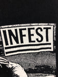 Infest, used band shirt (S)