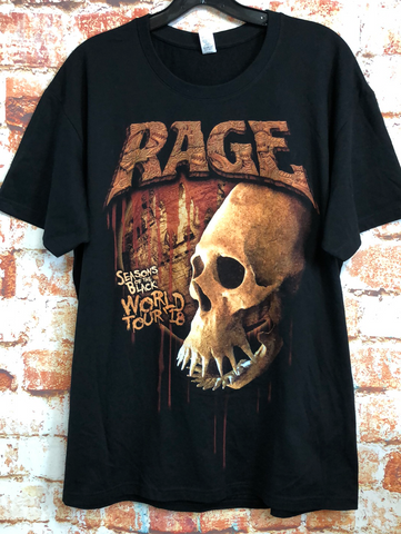 Rage, used band shirt (XL)
