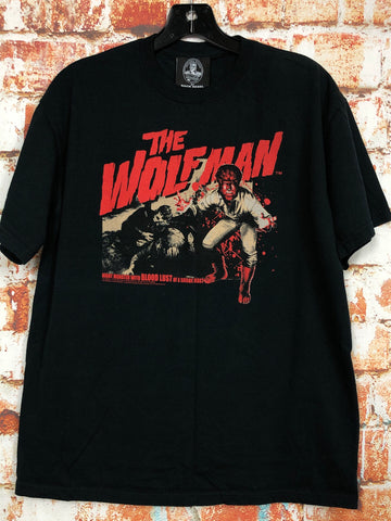 The Wolf Man, used novelty shirt (M)