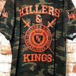 Killers & Kings, used novelty shirt (2XL)