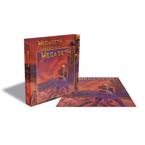 "Megadeth ""Peace Sells... But Who's Buying"" Rock Saws 500 Piece Jigsaw Puzzle"
