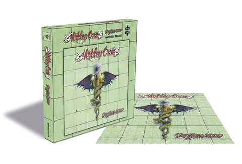 "Motley Crue ""Dr Feelgood"" Rock Saws 500 Piece Jigsaw Puzzle"