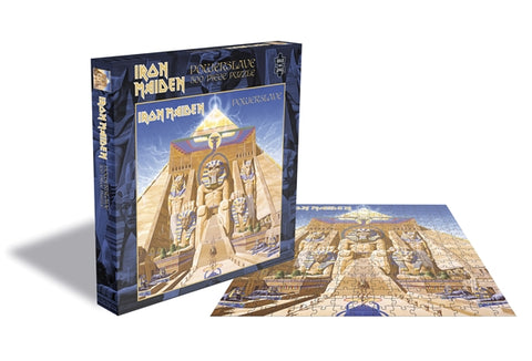 "Iron Maiden ""Powerslave"" Rock Saws 500 Piece Jigsaw Puzzle"