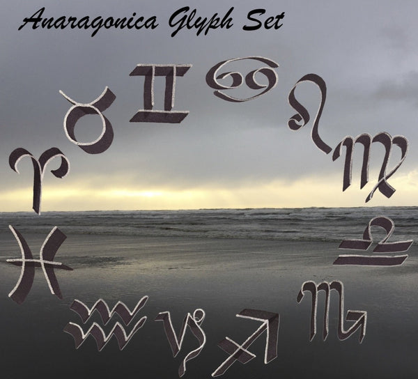 Anaragonica Sign Glyph Set