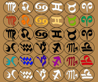 Anaragonic Creations Astrological Glyph Deluxe Set