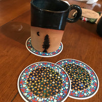 STARRY NIGHT COASTER 3.75""