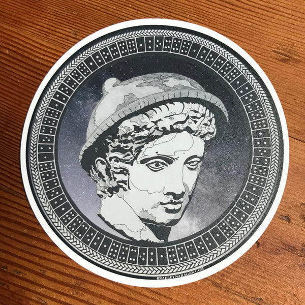 Hermes Dominos Sticker