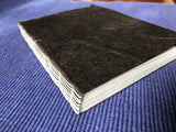 Hand Bound Notebook - Crescent Moon