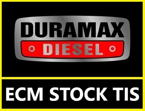 Duramax 2001-2016 ECM Stock TIS files
