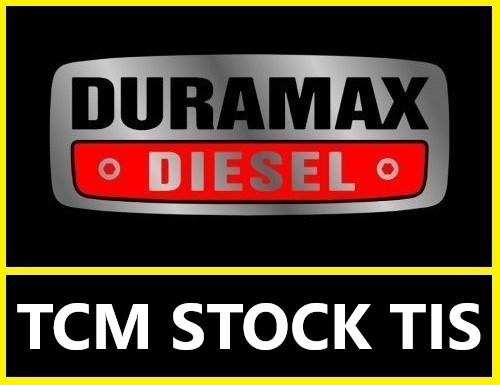 Duramax 2001-2016 TCM Stock TIS files