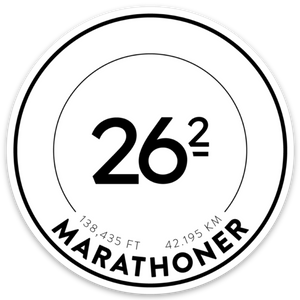 Open image in slideshow, Marathon Race Stickers