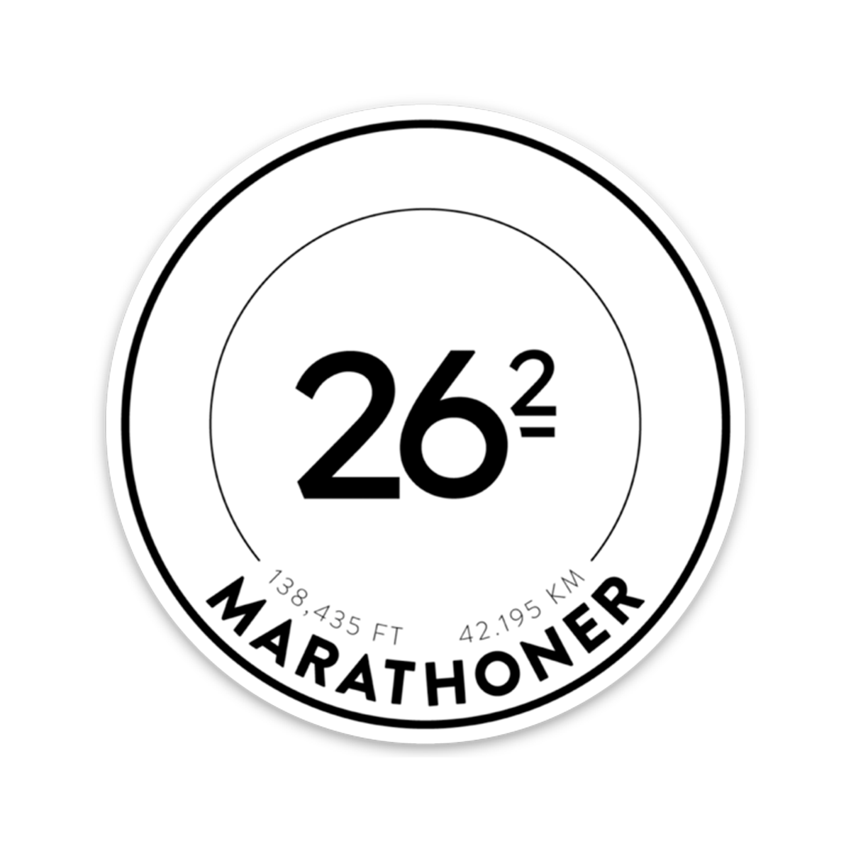 Marathon Race Stickers