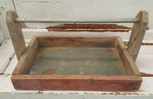 Load image into Gallery viewer, Vintage Handmade Gathering Bin/Tray