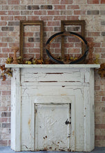 Load image into Gallery viewer, Antique Cast Iron Fireplace Mantle
