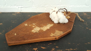 Handmade Hemlock Wood Cutting/Bread/Cheese Board Farmhouse Style