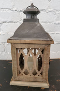 Latticework set of 2 Lanterns