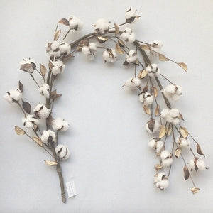"48"" Cotton Boll Garland"