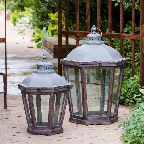French Quarter set of 2 Lanterns